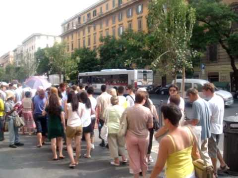 Line to the Vatican