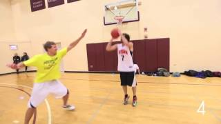Lil Dicky got some skills in basketball