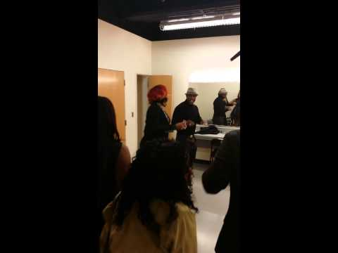 Keith Sweat & Syleena Johnson - Make It Last Forever (Impromptu Backstage Performance)