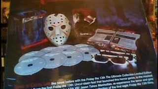 Blu-ray, DVD & VHS Update (Friday the 13th: The Ultimate Collection & More)