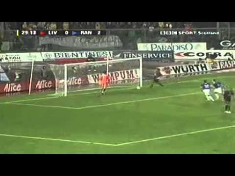 Coppa uefa 2006/2007: livorno vs glasgow rangers 2-3 (highlights bbc sport scotland)