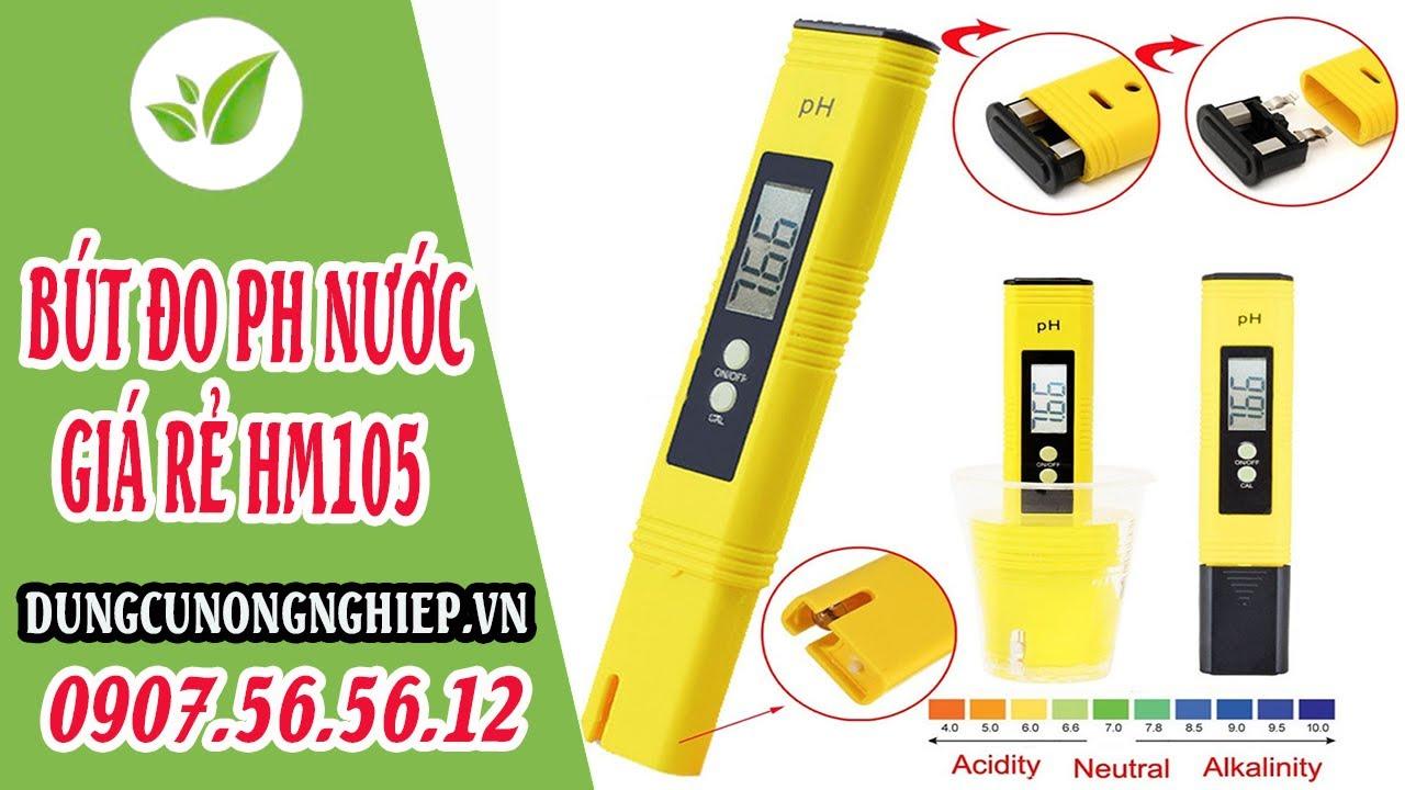 Bút đo pH nước nuôi cá – nước bể bơi – nước trồng cây   Dungcunongnghiep.vn