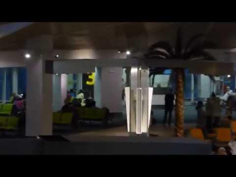 Checking the scene at Brunei Intl Airport....