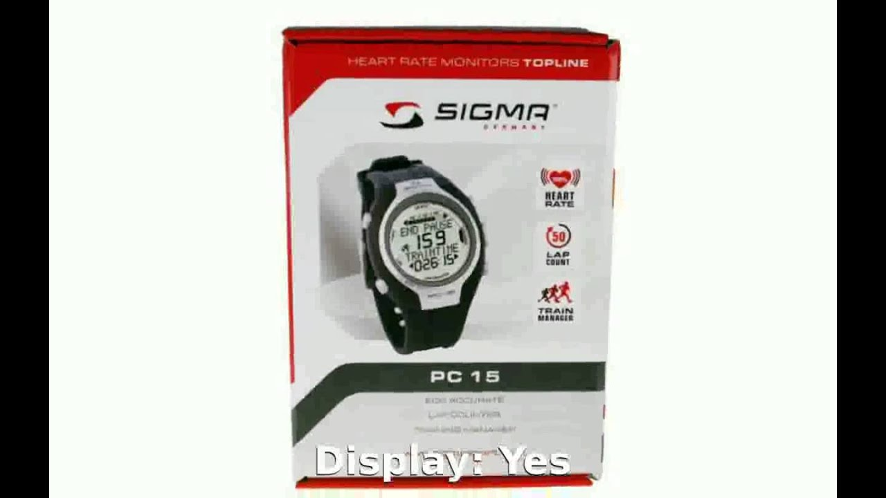 Sigma Sport PC 15 Details   Features - YouTube 8a376471fee
