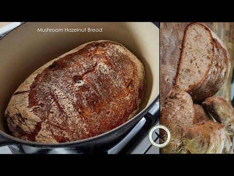 Mushroom Hazelnut Bread – Bruno Albouze – THE REAL DEAL