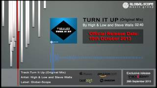 High & Low and Steve Walls - Turn It Up