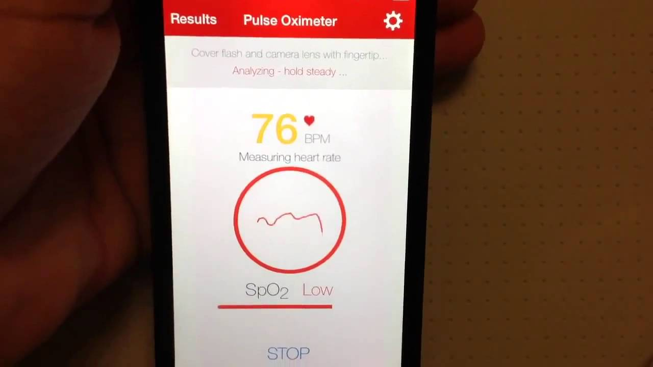 free pulse oximeter app for iphone