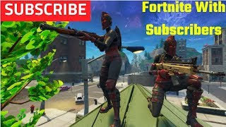 *Giveaway Winners* Fortnite Battle Royale W/ Subscribers Victory Royale