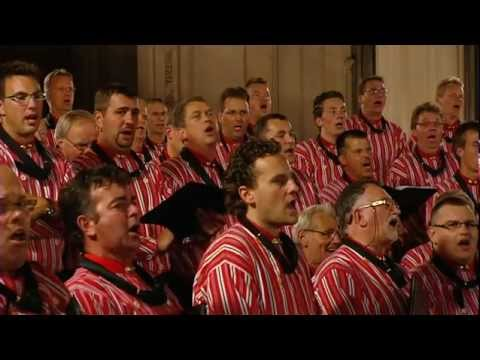 Lichtstad met uw Paarlen Poorten / He the pearly gates will open - Urker Mannenkoor 'Hallelujah'