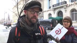 В Нью Йорке прошла акция в поддержку Европейского университета Санкт Петербурга