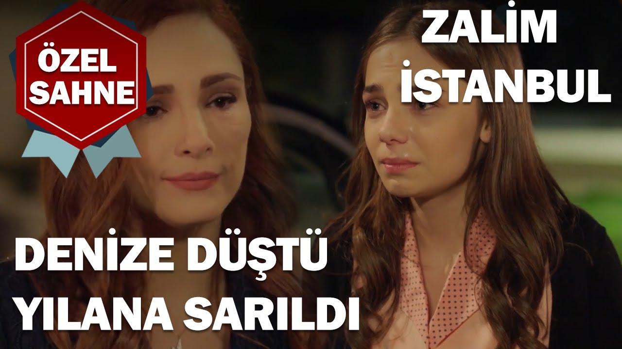 Ceren, Denize Düştü Yılana Sarıldı! - Zalim İstanbul Özel Klip