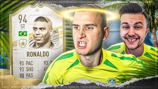 FIFA 21: ICON RONALDO SQUAD BUILDER BATTLE vs GAMERBROTHER 🔥🔥 300K SPEZIAL