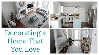10 Home Decor Tips for Decorating a Home That You Love
