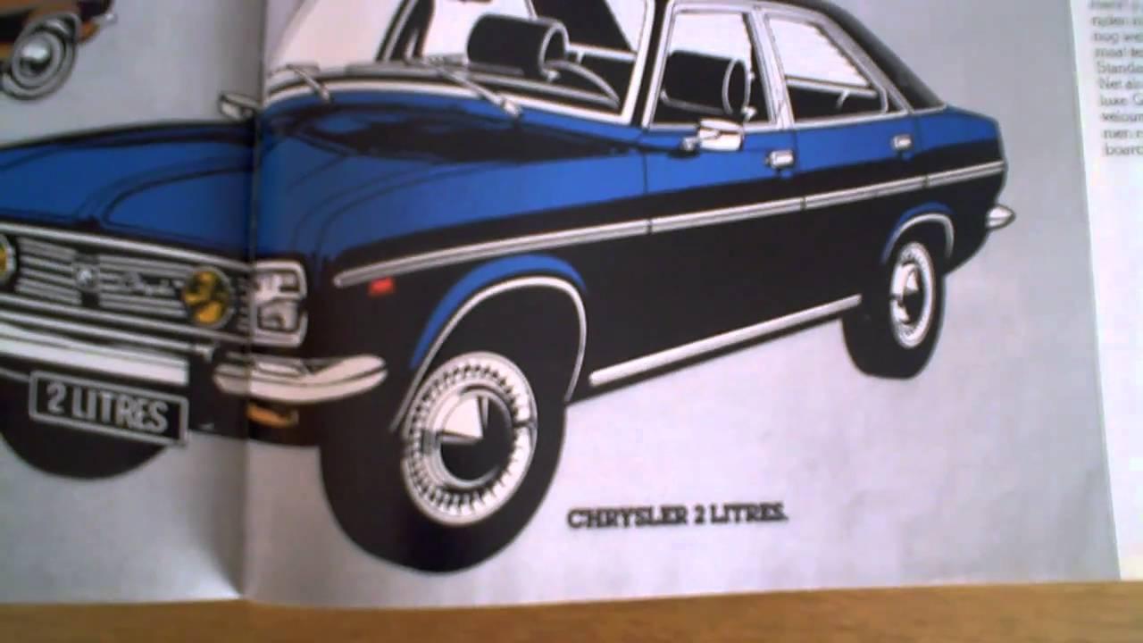 Ever seen a Chrysler 160 , 180...