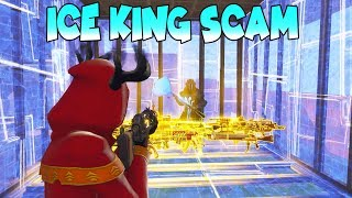 Raging Scammer Breaks His TV Over Guns! 🤬 (Scammer Gets Scammed) Fortnite Save The World