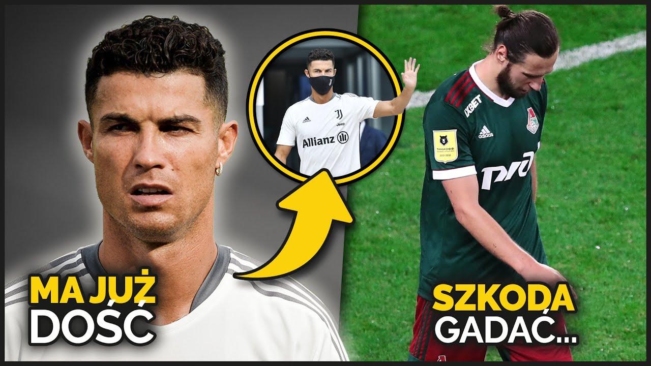 Cristiano Ronaldo chce ODEJŚĆ Z JUVENTUSU! Krychowiak BYŁ WYPCHNIĘTY z Lokomotivu SIŁĄ...