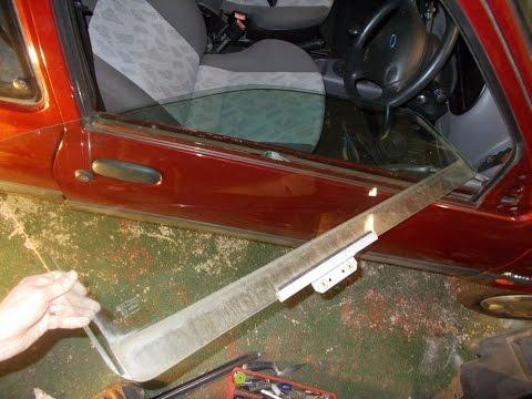 Ford Fiesta Zetec S Passenger front window mechanism