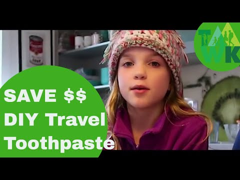 FAMILY MAKE TOOTHPASTE! First in our TaawkTV Eco DIY FAMILY SERIES. Plastic free home remedies