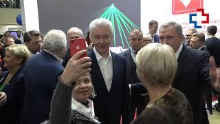 Смотреть видео Сергей Собянин в ЦВК