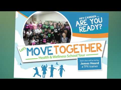 Let's Move Together - Health & Wellness School Tour