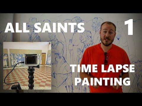Communion of Saints - Painting Process (Week 1)