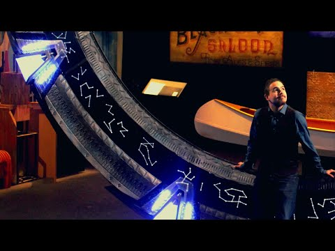 The most accurate Stargate replica ever made! SG1:1 project. SGA version in London!