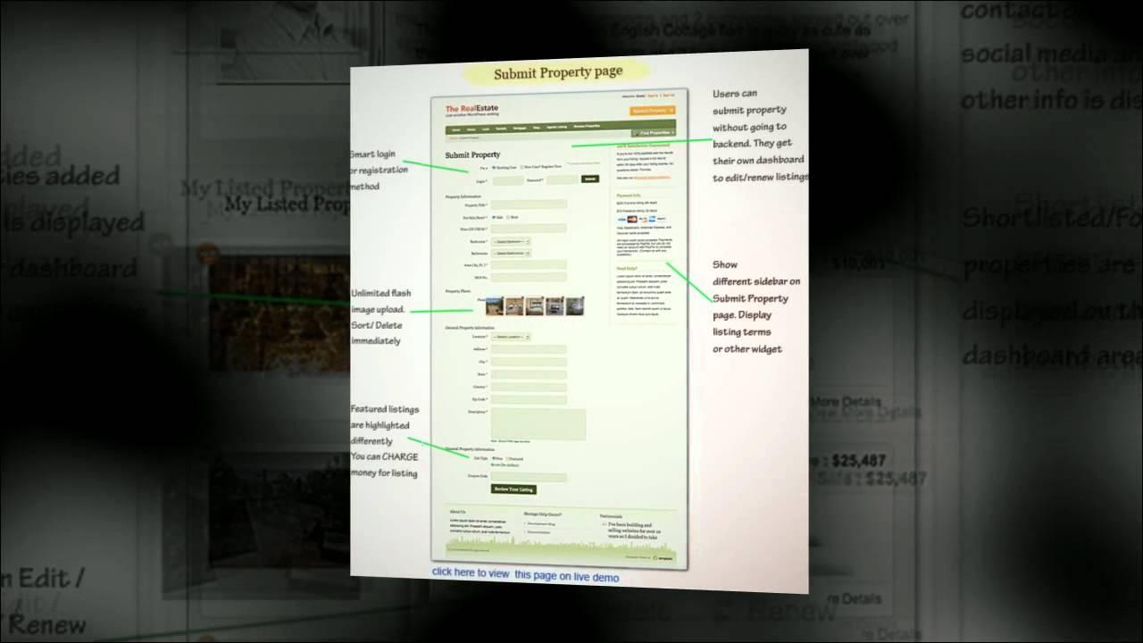 Real Estate   Tema en Wordpress para montar tu propio portal ...