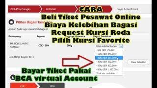 Step by Step Cara Beli Tiket Pesawat Online Lion dan Batik Air Terbaru