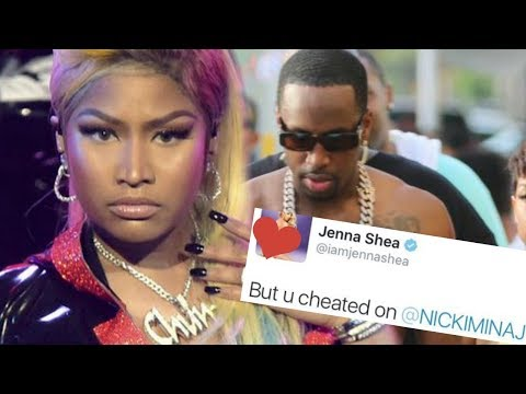 Nicki Minaj did get CHEATED on by Safaree several times  ((( details inside )))