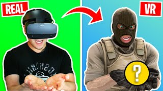 I bought a VR headset just to try this...
