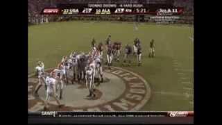 2007 Alabama Crimson Tide (#16) vs Georgia Bulldogs (#22)