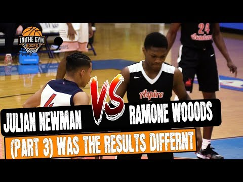 Julian Newman Vs Ramone Woods (PART 3) This Time With THEIR SCHOOL SQUADS