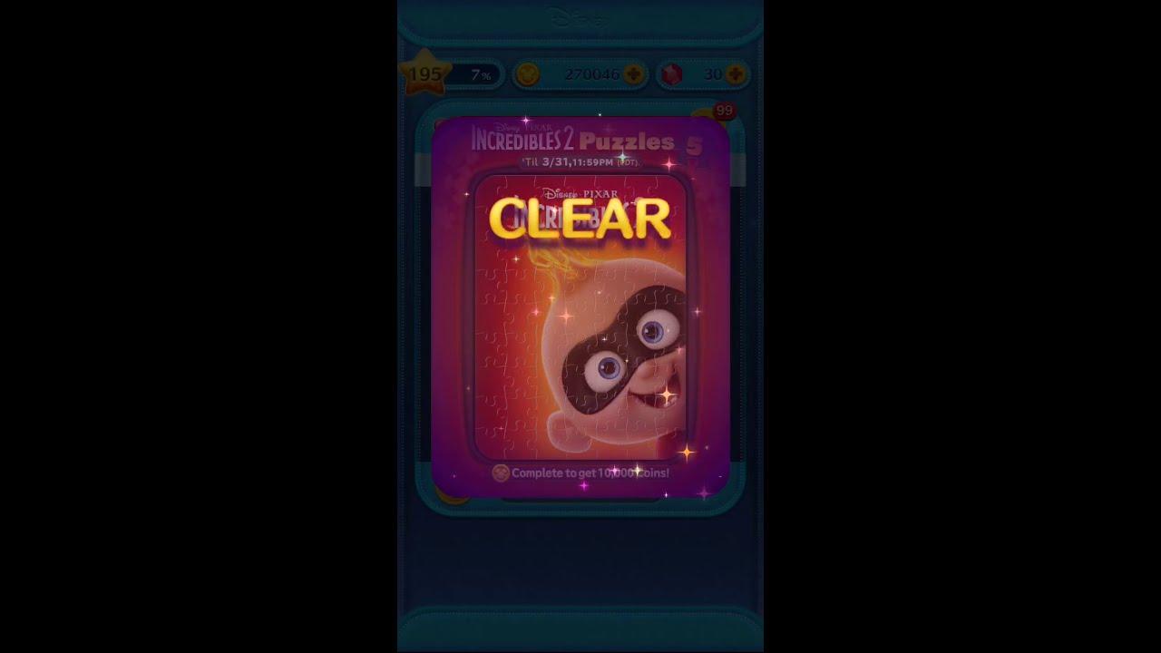Tsum Tsum March Event 2019 Incredibles 2 Puzzles  c5d8cc8c4