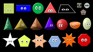 What Shape Is It? Collection - Shapes Song - The Kids' Picture Show (Fun & Educational)