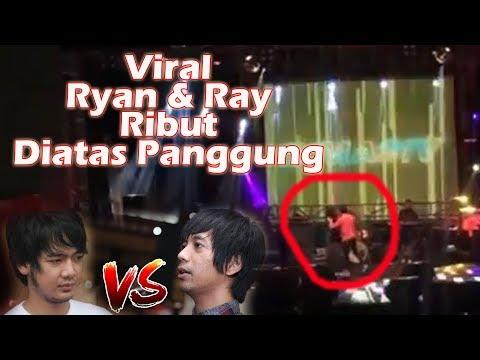 Viral! Ryan dan Ray D'Masiv Tertangkap Kamera Ribut Di Atas Panggung