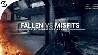 ESL Pro League Season 6 Finals: FalleN vs Misfits