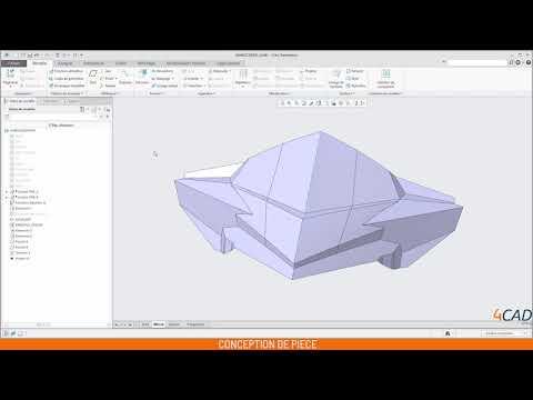 Modélisation et conception en 1 minute avec Creo
