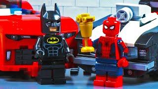 Lego Car Race - Spider Man Vs Batman
