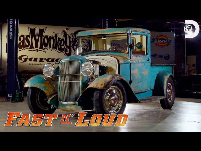 Gas Monkey's '33 Ford Pickup | Fast N' Loud