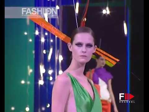CHRISTIAN LACROIX Haute Couture Spring Summer 2000 Paris - Fashion Channel