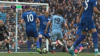 Man City hold on to defeat Leicester City 2-1