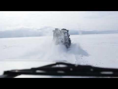 """Iceland - driving at """"Glacier Vatnajokull"""""""