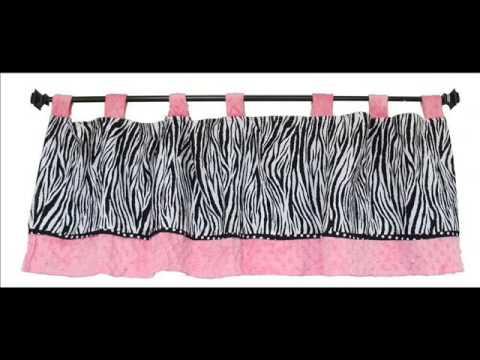 Custom Baby Bedding - Pink Minky Zebra 13 PCS Crib Bedding ; Nursery Bedding Girls