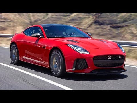 2018 Jaguar F Type Svr Coupe One Take