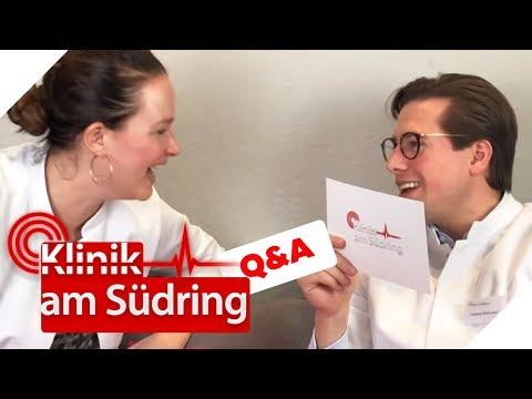 Q&A mit Freddy Seehauser und Dr. Engel | 900.000 Abonnenten-Special | Klinik am Südring | SAT.1 TV