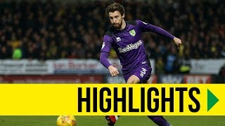 HIGHLIGHTS: Burton Albion 0-0 Norwich City