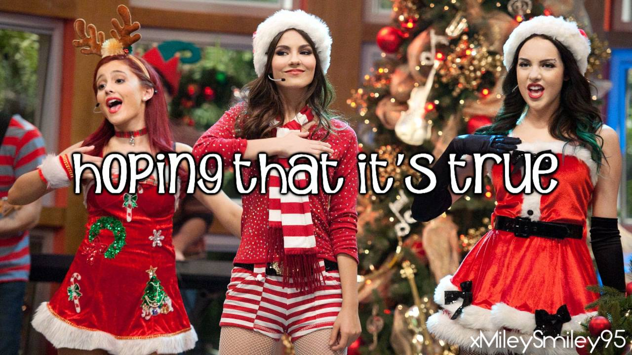 Victorious Cast ft. Victoria Justice - It's Not Christmas Without ...