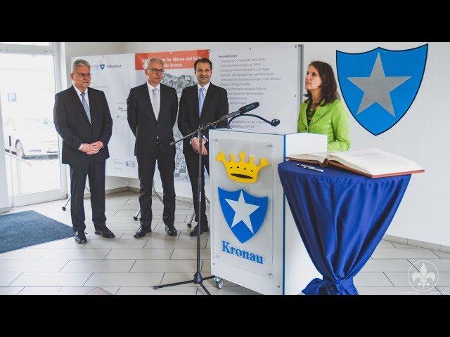 Kronau Press event