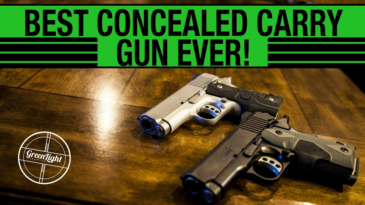 The Best Concealed Carry Gun! - YouTube
