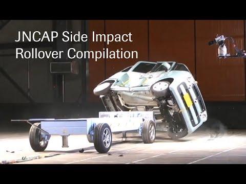 JNCAP Side Impact Rollover Compilation